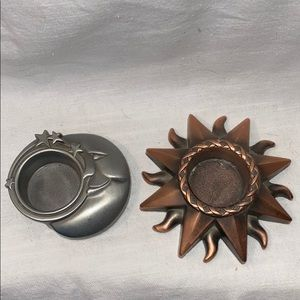 Other - Sun and Moon Votive Holder Set